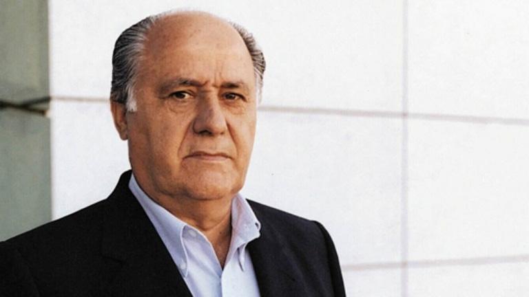 Amancio Ortega Richest Entrepreneurs 2016