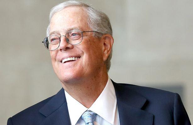 David Koch Richest American 2018