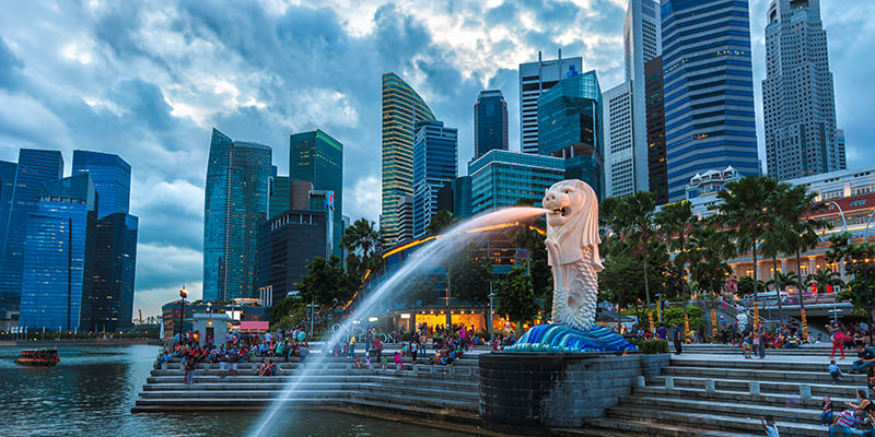 Singapore Richest Asian Countries 2017