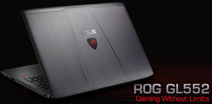 ASUS ROG GL552VW-DH71 Laptop Cheapest Gaming Laptops 2017