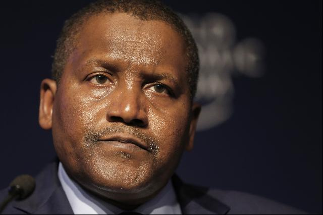 Aliko Dangote Richest Black Man 2016