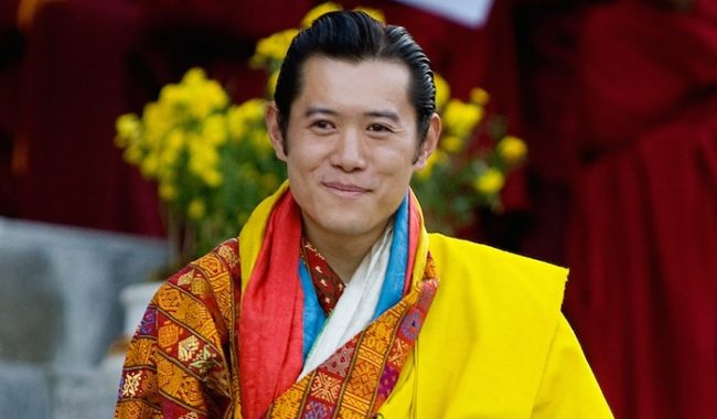 Jigme Khesar Namgyel Wangchuck Most Handsome President 2017