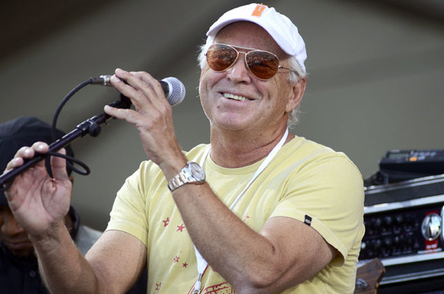 Jimmy Buffett Richest Guitarists 2016