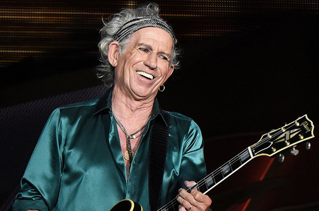 Keith Richards Richest Guitarists 2017
