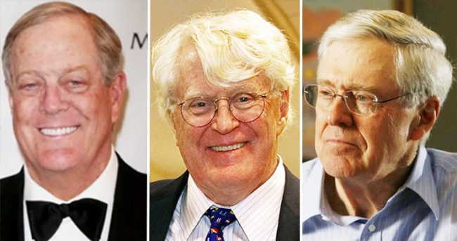 Koch Family Richest Families 2017