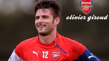 Olivier Giroud Most Handsome Athletes 2017