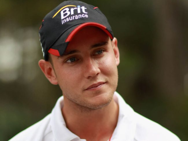 Stuart Broad Richest Cricketers in England 2017