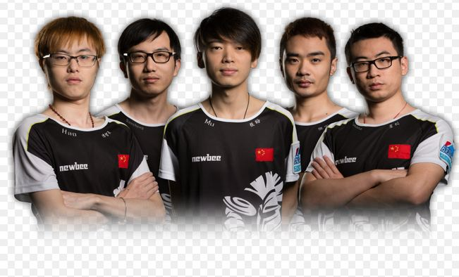 Team Newbee Richest Gamers 2017