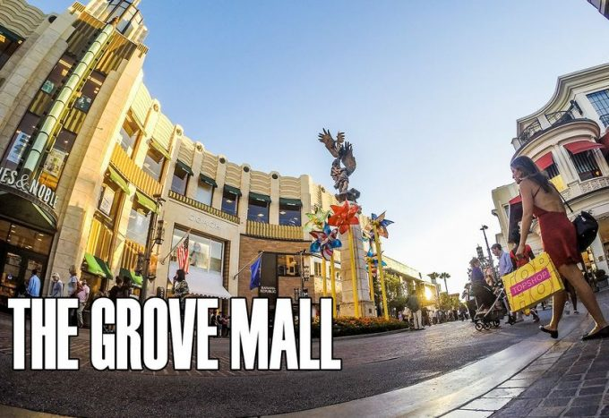 The Grove Largest Mall in USA 2018