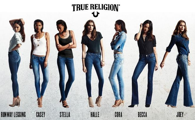 True Religion Best Selling Jeans Brands 2018