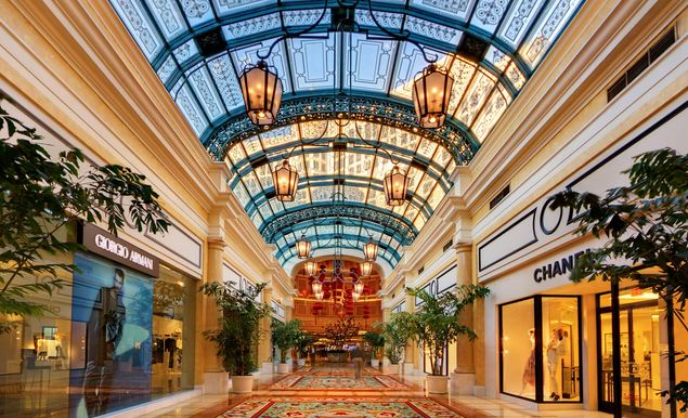 Via Bellagio Largest Mall in USA 2017