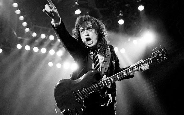 Angus Young Highest Paid Guitarists 2016