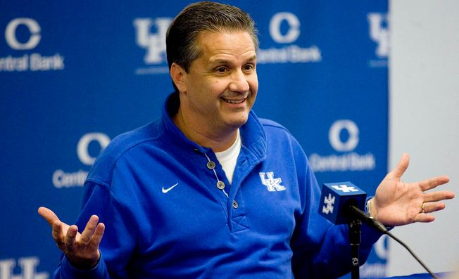 John Calipari Highest Paid College Basketball Coaches 2017