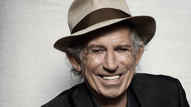 Keith Richards Highest Paid Guitarists 2017