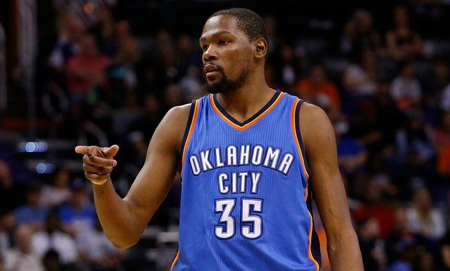 Kevin Durant Highest Paid Sportsmen 2016