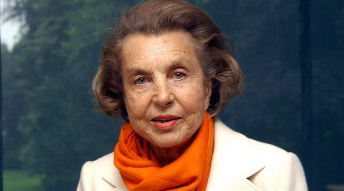 Liliane Bettencourt Richest Women 2017