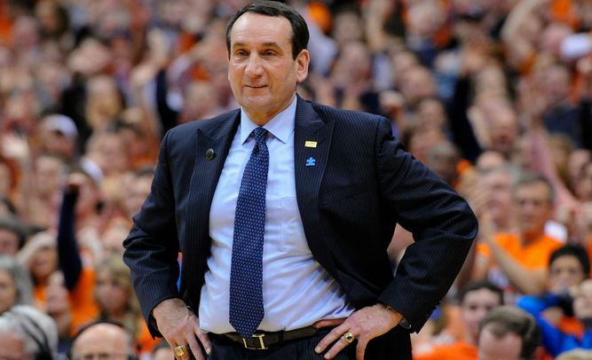 Mike Krzyzewski Highest Paid College Basketball Coaches 2016
