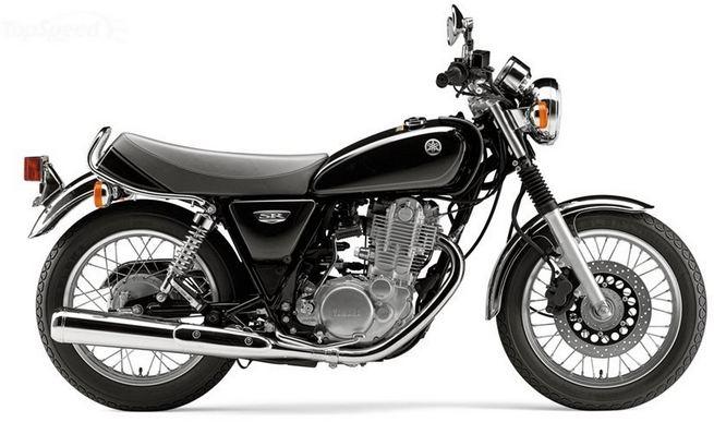 2016 Yamaha SR-400, World's Most Beautiful Motorcycles 2017