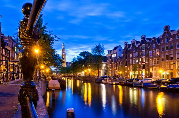 Amsterdam, the Netherlands, Most Beautiful European Cities 2016