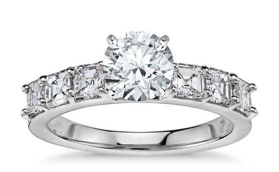 Asscher – Cut Krupp Diamond Ring, Most Beautiful Engagement Rings 2017