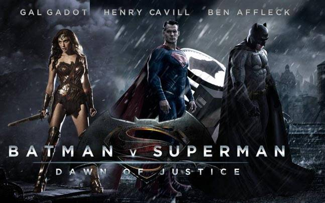 Batman V Superman- Dawn of Justice Most Popular English Movies 2016