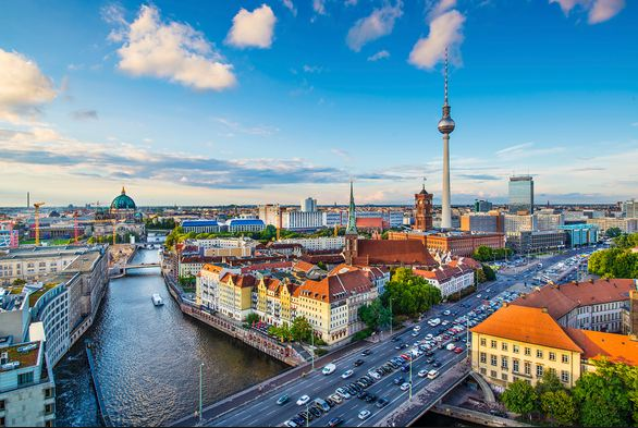 Berlin, Germany, Most Beautiful European Cities 2018