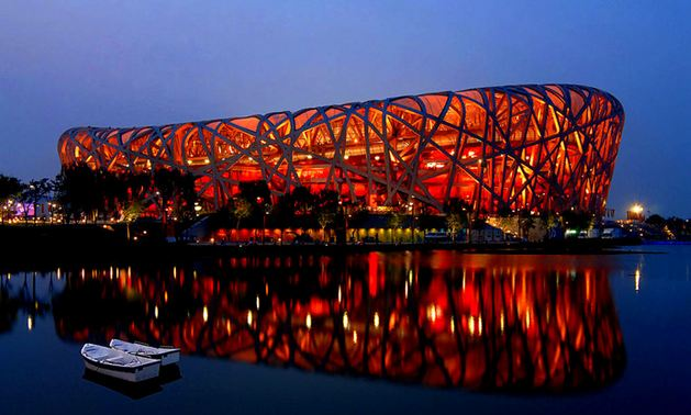 Birds nest stadium in Beijing china, World's Most Beautiful Places To Visit 2016