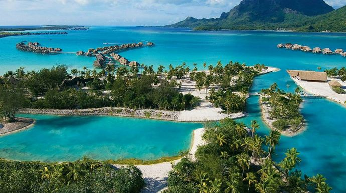 Bora Bora, French Polynesia, Most Beautiful Islands 2017