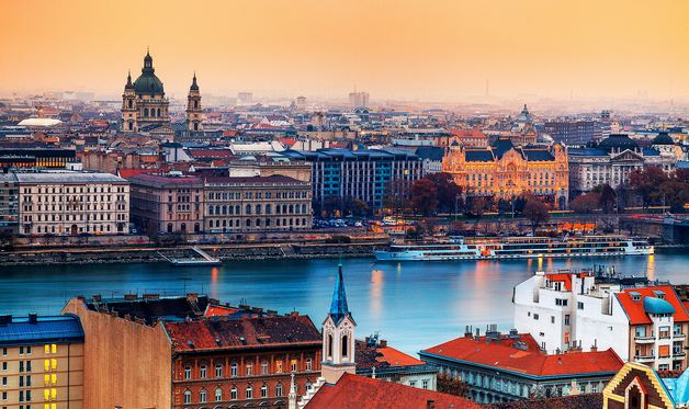 Budapest, Hungary, Most Beautiful European Cities 2016