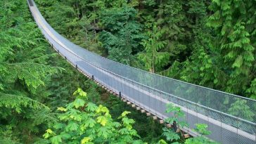 Capilano Suspension Bridge, Most Beautiful Places in The World 2018