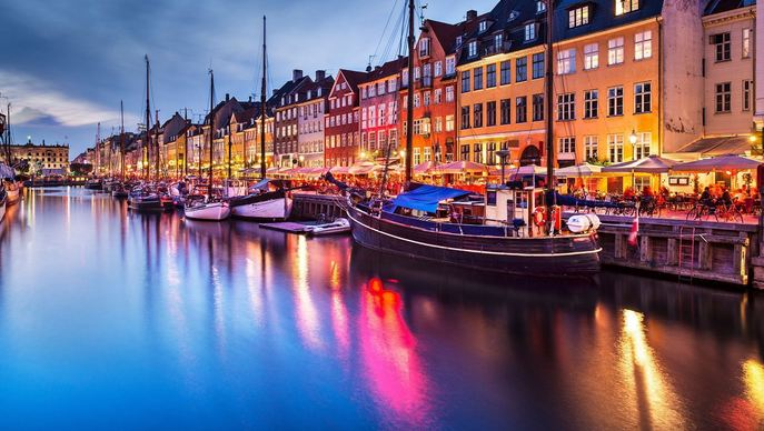 Copenhagen, Denmark, Most Beautiful European Cities 2017