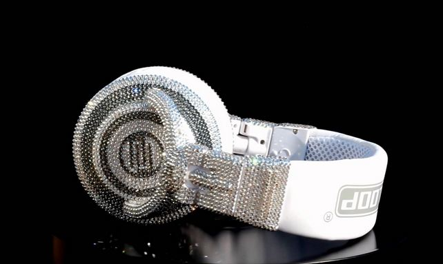DJ Headphones made with Swarovski crystals, World's Most Expensive Electronic Gadgets 2016