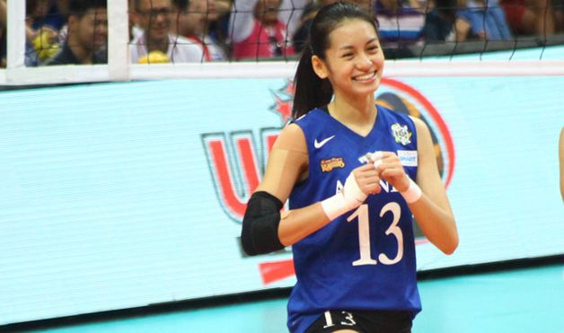 Denden Lazaro, Most Beautiful UAAP Volleyball Players 2017