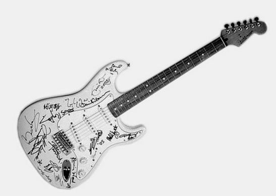 Fender 'Reach out to Asia' Stratocaster, World's Most Expensive Electric Guitars 2018