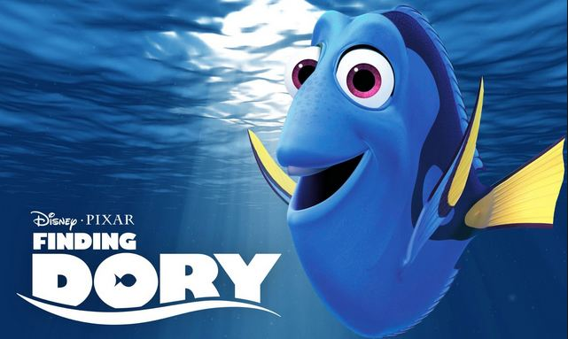 Finding Dory Most Popular English Movies 2017