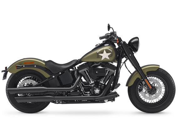 Harley-Davidson Softail Slim World's Most Beautiful Motorcycles 2017