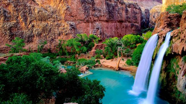 Havasu Falls – Grand Canyon National Park, World's Most Beautiful Places 2018