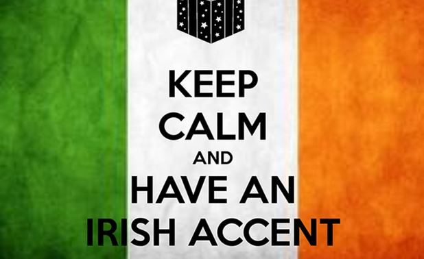 Irish, Sexiest Accents in The World 2018