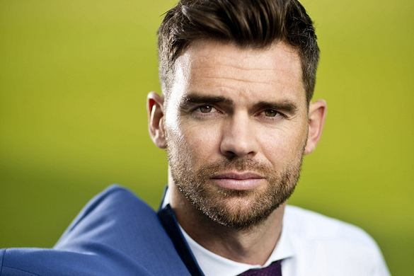 James Anderson, Most Handsome English cricketers 2016