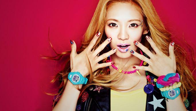 Kim Hyuna, Most Beautiful Female Singers 2016
