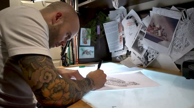 Mike Rubendall Highest Paid Tattoo Artists 2016
