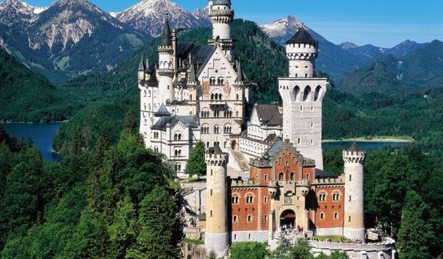 Neuschwanstein Castle – Germany, World's Most Beautiful Places 2016