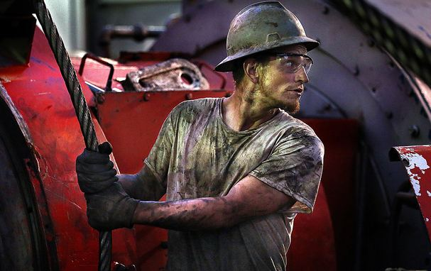 Oil Rig Worker Highest Paying Dirty Jobs 2016