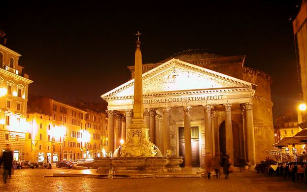 Pantheon, Rome, World's Most Beautiful Buildings 2016