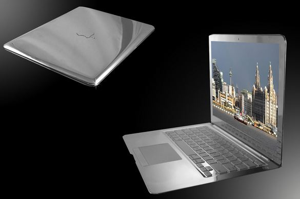 Platinum Mac book Air, World's Most Expensive Electronic Gadgets 2017