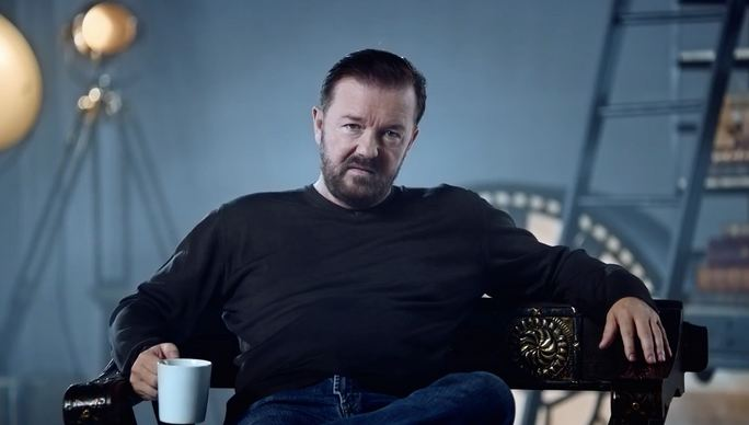 Ricky Gervais, World's Most Handsome Comedians 2017