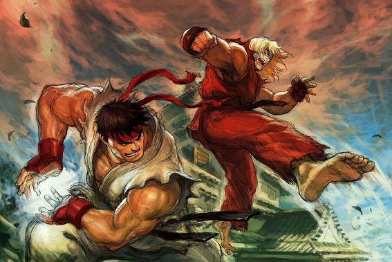 Ryu and Ken, Most Popular Video Game Character 2018