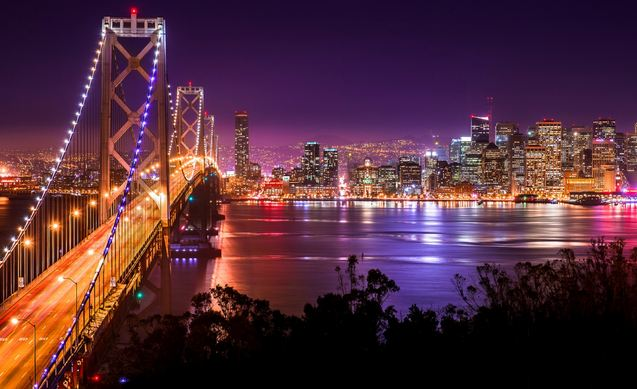 San Francisco, Most Beautiful Places To Visit in The United States 2017