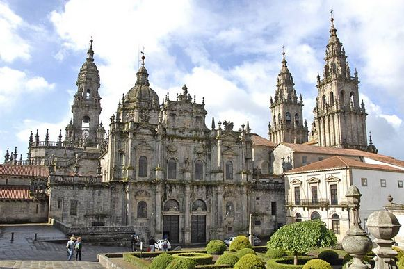 Santiago de Compostela, Spain, World's Most Beautiful Places To Get Married 2016