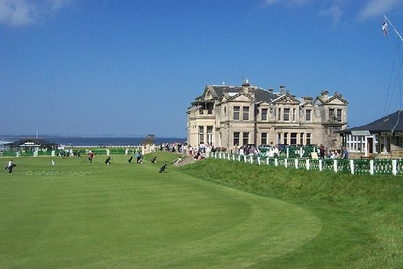 St. Andrews, World's Most Beautiful Golf Courses 2017